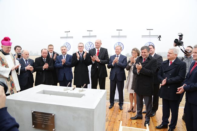 Volkswagen изгражда втори завод в Полша