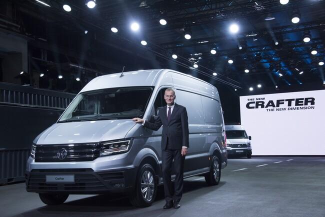 Бляскава премиера на новия Volkswagen Crafter