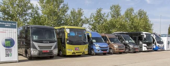 Исторически първи Minibus Euro Test 2017