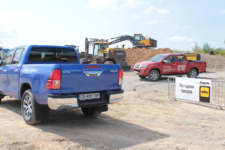 Драйвтест на Isuzu D-Max и Toyota Hilux