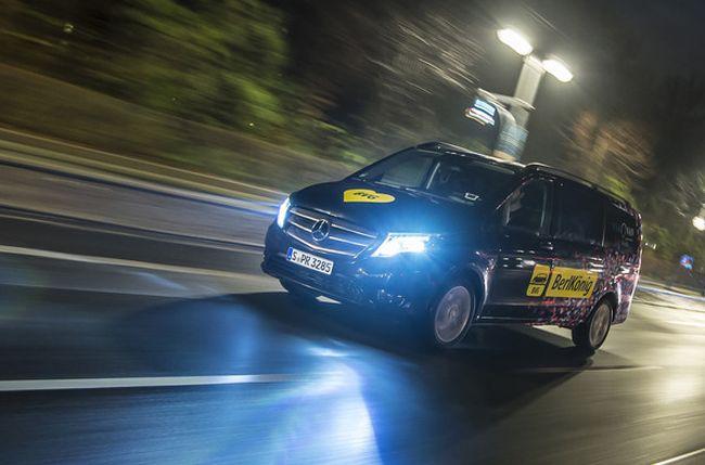 Daimler и BVG пускат групова таксиметрова услуга