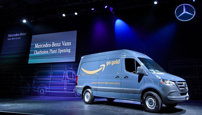 Amazon е най-големият клиент на Sprinter в света