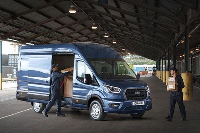 Новият двутонен Ford Transit
