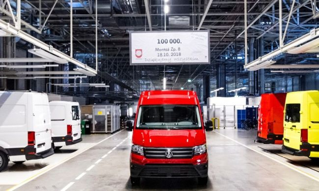 100 000 вана от завода във Вржешня