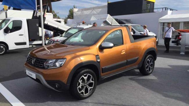 Dacia Duster във версия пикап