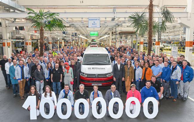 10 млн. автомобила от завода на VW в Хановер