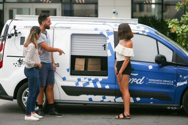 Ford и безпилотните автомобили