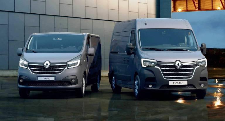 Това са новите Renault Master и Renault Trafic