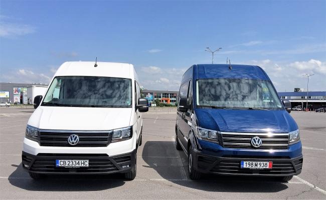 Тест на Volkswagen Crafter (Видео)