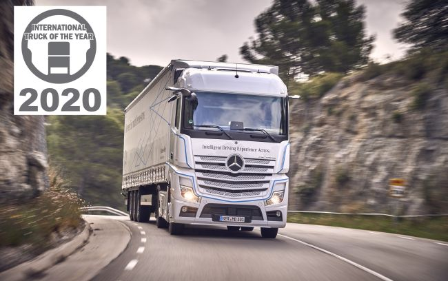 Новият Actros е Международен камион на 2020 г.