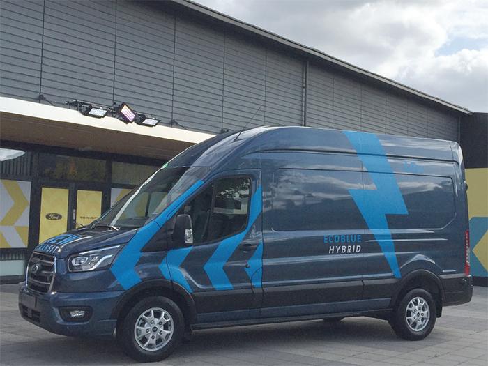 Новите Ford Transit и Transit Custom PHEV