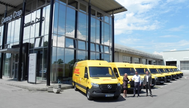 DHL Express България се довери на Sprinter