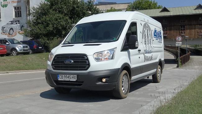 Видео - Тест на Ford Transit 4х4