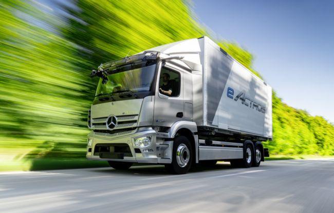 eActros влиза в серийно производство догодина
