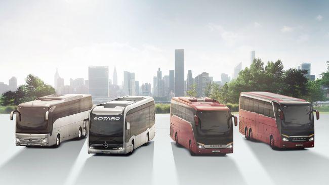 Въздушни филтри с антивирусен слой за автобусите Mercedes-Benz и Setra