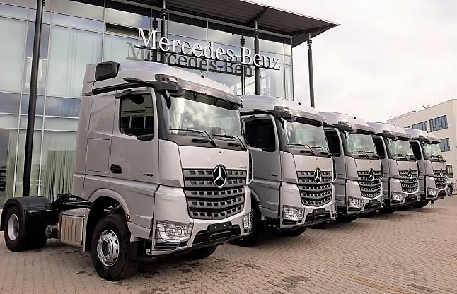 Mercedes-Benz Arocs: Най-доброто от два свята