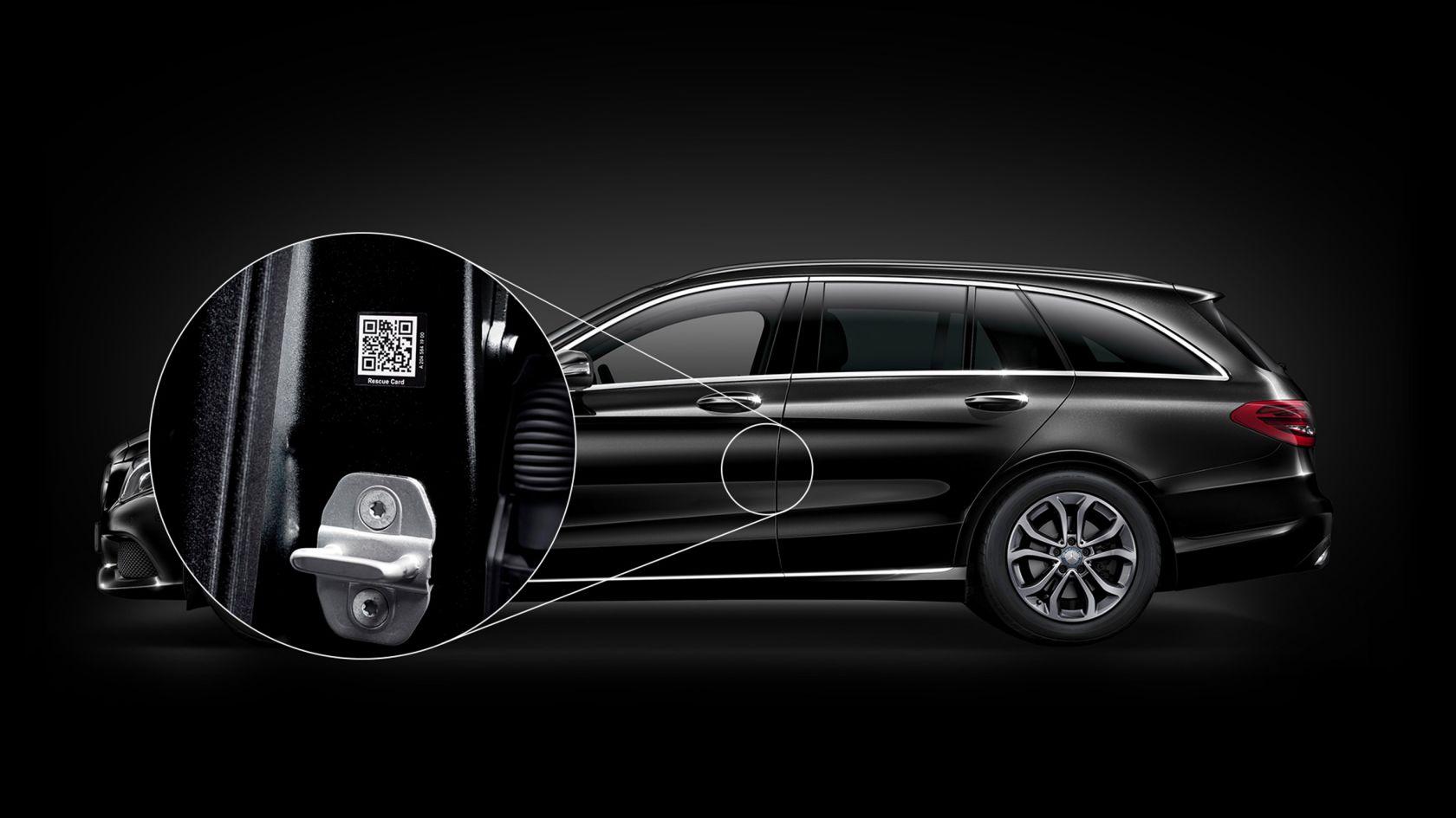 Mercedes-Benz разработи стикери за спасителни операции