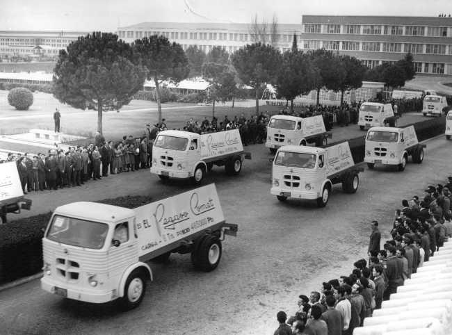 IVECO празнува 75 години Pegaso