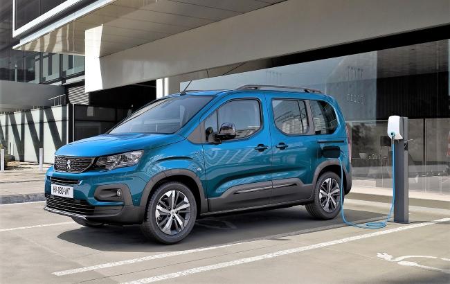 Електрическият Peugeot e-Rifter