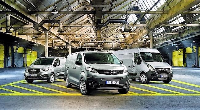Лекотоварна гама на Opel на Truck Expo 2021