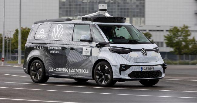 VWCV, Argo AI и MOIA с прототип на ID.BUZZ за автономно шофиране